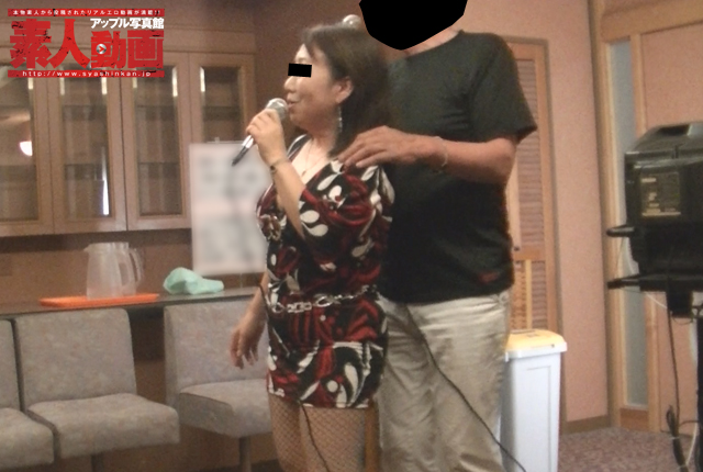 After you enjoy karaoke at Onsen ryokan are Japanese-style in sex galore! Mature couple POV shoot travel video
