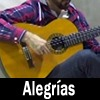Flamenco guitar (Alegrías)