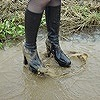 Wet&Messy Shoes画像集010